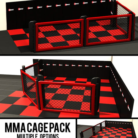 mma cage, mma cages, cage mma, commercial mma cage, floor mma cage, ufc mma cage