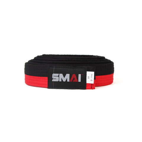 Poome Belt - Black & Red