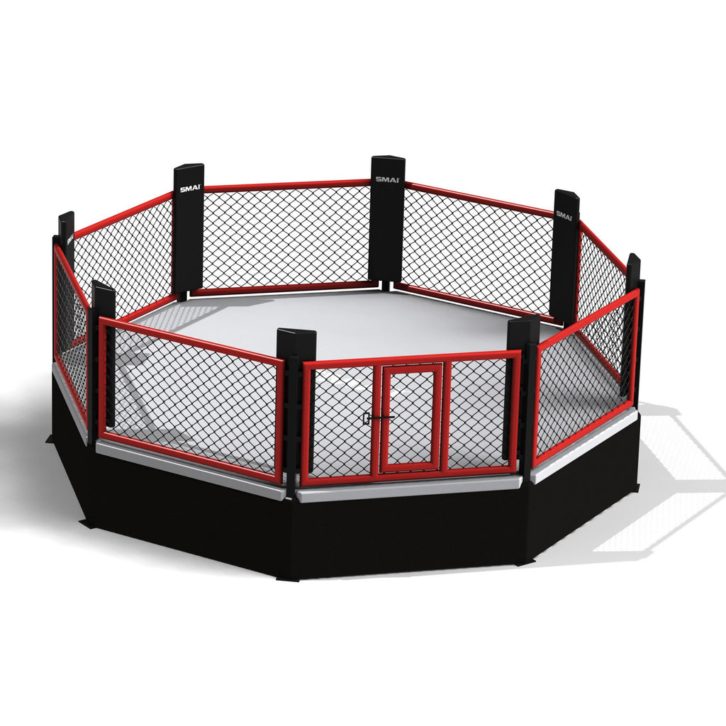 Mma Cage 5 5m Raised Octagon Boxing Kickboxing Mma Smai