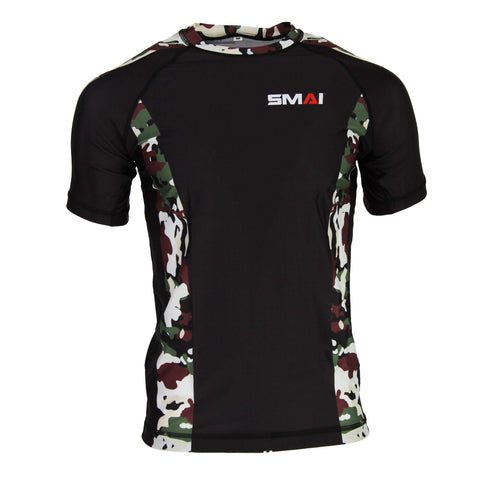 Rash Guard – Short Sleeve Camo