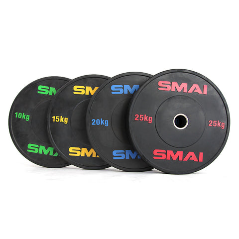HD Bumper Plates Set - 140kg Mixed