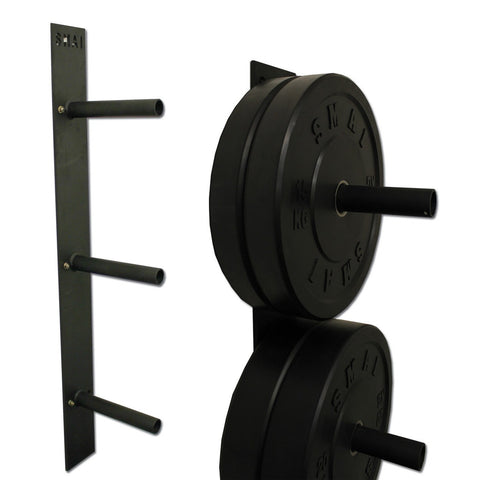 wall mounted bumper plate rack, bumper storage, bumper storage rack, bumper plate storage, bumper mount storage, bumper plates storage