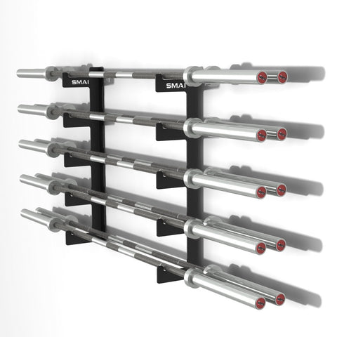 10 Barbell Gun Rack Weightlifting Storage