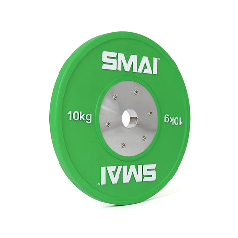 SMAI Competition Bumper Plate 10kg (PAIR)