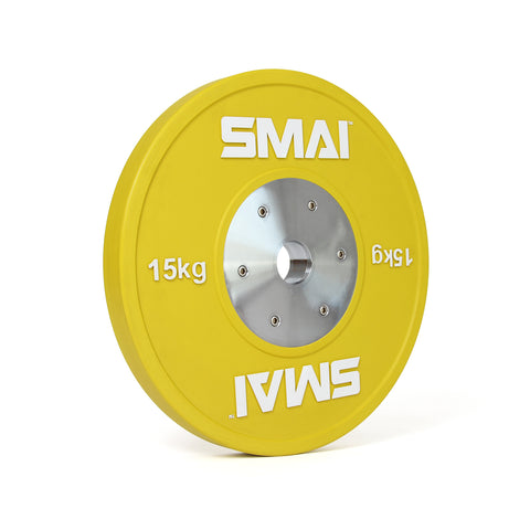 SMAI Competition Bumper Plate 15kg (PAIR)