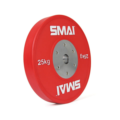 SMAI Competition Bumper Plate 25kg (PAIR)