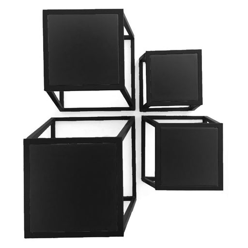 Plyometric Box Set of 4 Steel