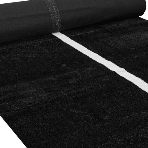 Black Double Sled Turf Track - 2.4 x 23m