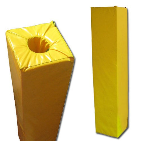 goal post padding, goal post pads, soccer goal post pads, nfl goal post pads