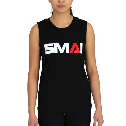 SMAI Women's Muscle Tank T-Shirt Black, Apparel, Tank Tee, Shirt