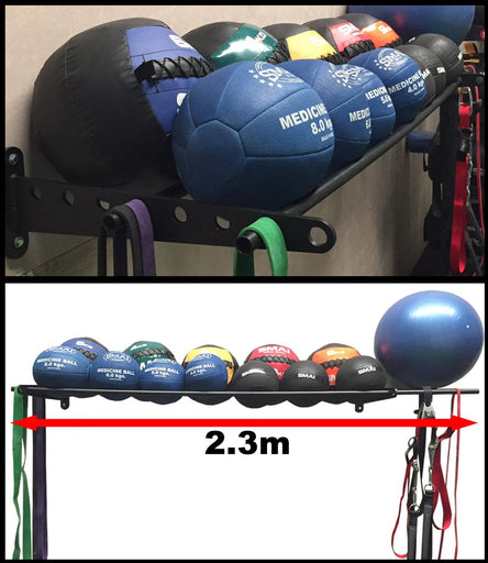 Wall Ball Rack Storage Wallball