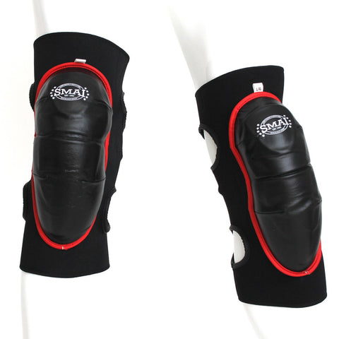 mma knee guard, knee guards, black knee guards, fight knee guard