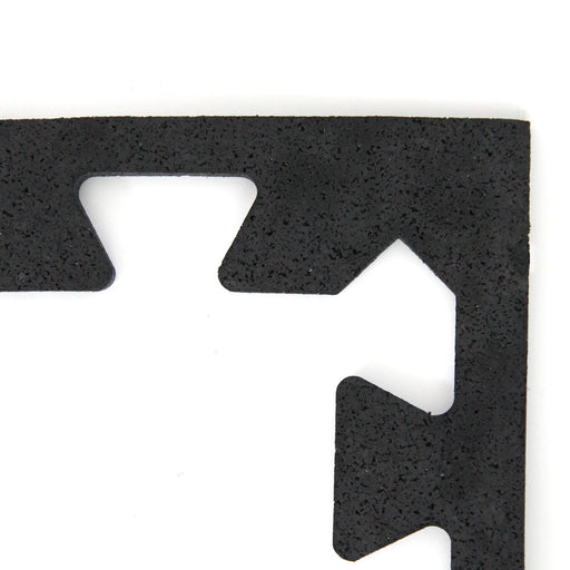 Rubber Jigsaw Gym Tile - Edge