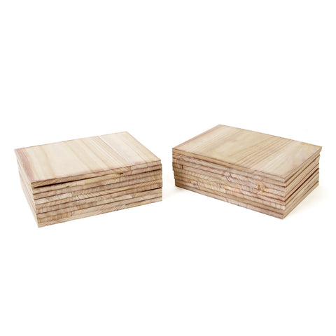 Paulownia Wood Break Boards - 20 pk of 1.2cm