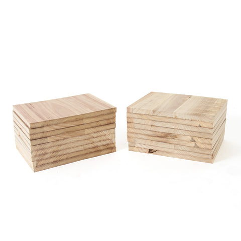 Paulownia Wood Break Boards - 20 pk of 1.8cm