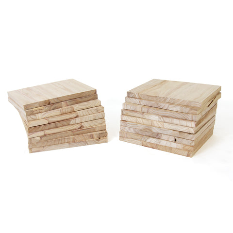 Paulownia Wood Break Boards - 20 pk of 2cm