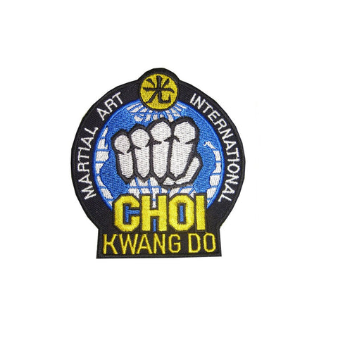 Badge Choi Kwang Do, Martial arts badge, martial arts patches, karate patches, karate badges, taekwondo patches, kung fu patches, karate uniform patches