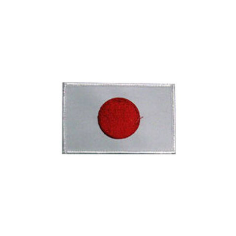 Badge Japanese Flag, Martial arts badge, martial arts patches, karate patches, karate badges, taekwondo patches, kung fu patches, karate uniform patches