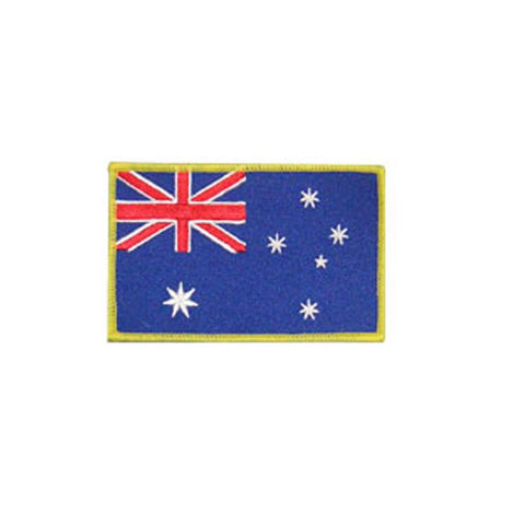 Badge Australian Flag, Martial arts badge, martial arts patches, karate patches, karate badges, taekwondo patches, kung fu patches, karate uniform patches