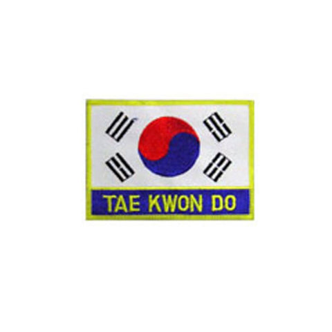 Badge TKD Korean, Martial arts badge, martial arts patches, karate patches, karate badges, taekwondo patches, kung fu patches, karate uniform patches