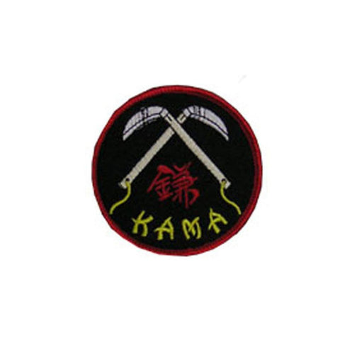 Badge Kama, Martial arts badge, martial arts patches, karate patches, karate badges, taekwondo patches, kung fu patches, karate uniform patches
