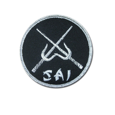 Badge Sai, Martial arts badge, martial arts patches, karate patches, karate badges, taekwondo patches, kung fu patches, karate uniform patches