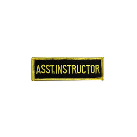 Badge Assistant Instructor, Martial arts badge, martial arts patches, karate patches, karate badges, taekwondo patches, kung fu patches, karate uniform patches