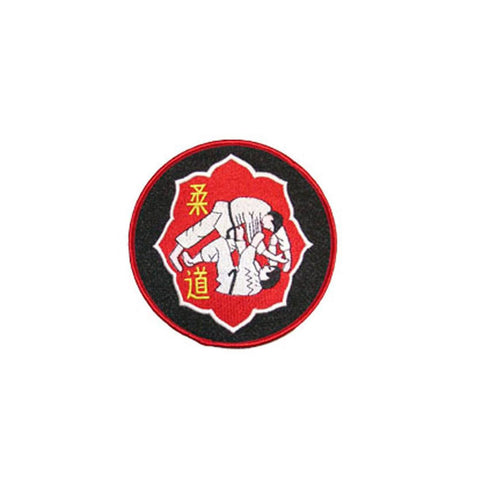 Badge Judo Red Lotus, Martial arts badge, martial arts patches, karate patches, karate badges, taekwondo patches, kung fu patches, karate uniform patches