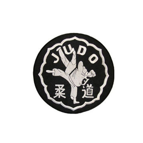 Badge Judo XL, Martial arts badge, martial arts patches, karate patches, karate badges, taekwondo patches, kung fu patches, karate uniform patches