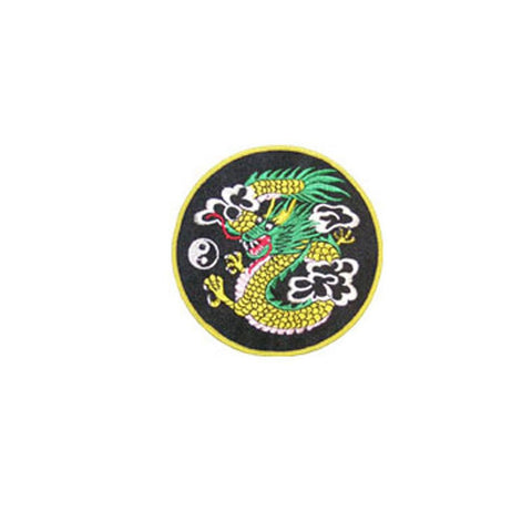 Badge Dragon Large, Martial arts badge, martial arts patches, karate patches, karate badges, taekwondo patches, kung fu patches, karate uniform patches