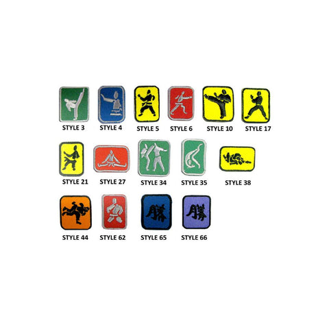 Martial Arts Badge 10pk