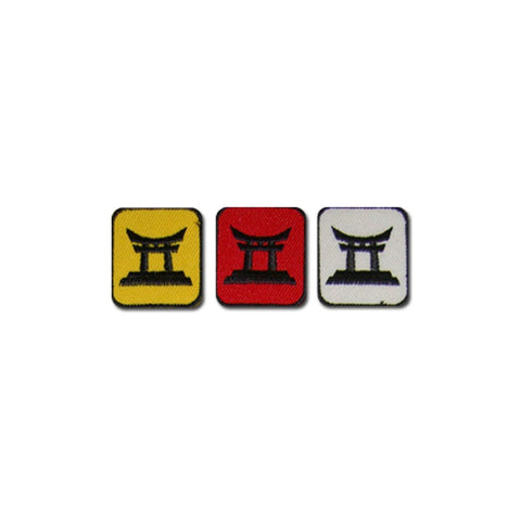 Badge Tori Gate Merit 10pk, Martial arts badge, martial arts patches, karate patches, karate badges, taekwondo patches, kung fu patches, karate uniform patches