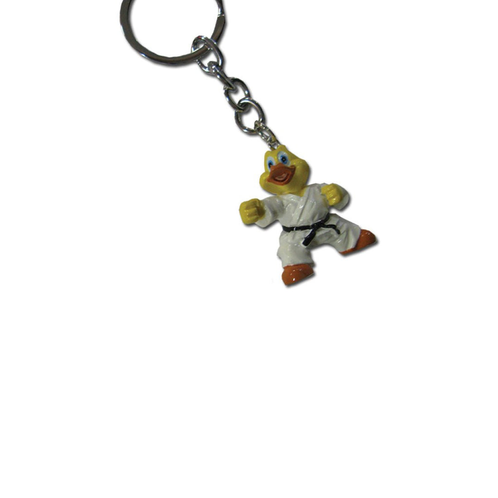 3D Karate Duck Keyring, karate, keyring, karate kid, karate gold, karate gear, wkf karate