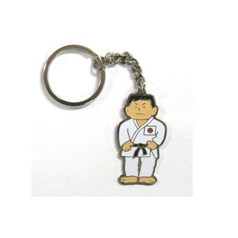 Martial Arts Man Keyring, karate, keyring, karate kid, karate gold, karate gear, wkf karate