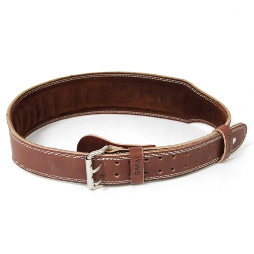 Weight Lifting Belt - Brown Leather