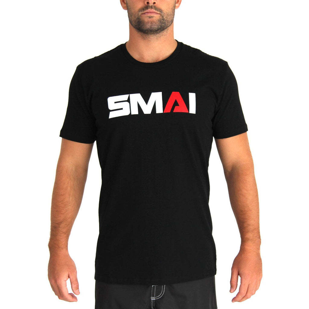 SMAI Men's T-Shirt Asphalt Black, Apparel, Tee, Shirt