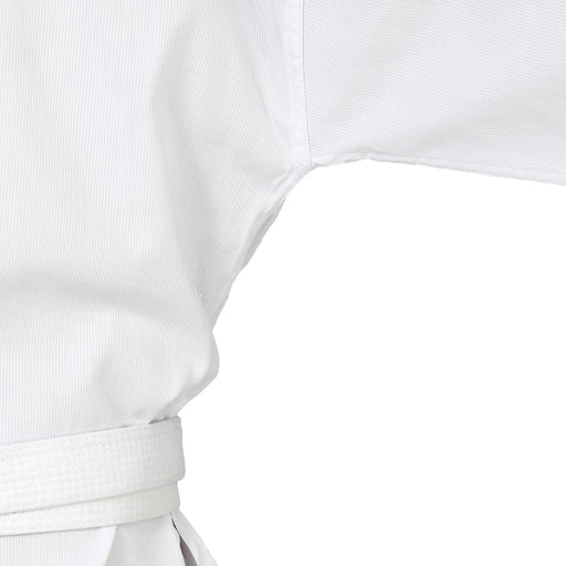 TKD Uniform Classic - 8oz Ribbed Student Dobok (White V-Neck)