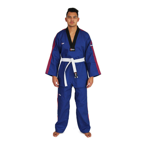 TKD Uniform - 8oz Demo Champion Dobok (Blue)
