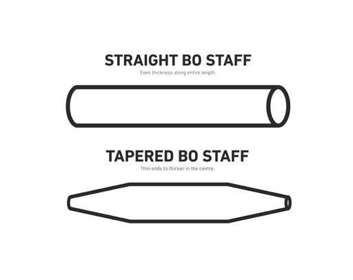 bo staff, bo staff for martial arts, bo staff weapon, bo staff light, bo demo staff, bo staff martial arts, tapered, untapered, tapered staff, tapered bo
