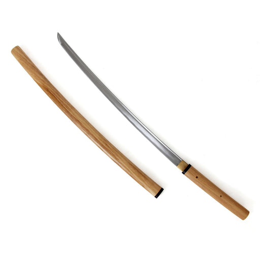 Katana - Shirasaya - Medium Carbon, katana, katana sword, japanese katana, stainless steel katana, sharpened katana