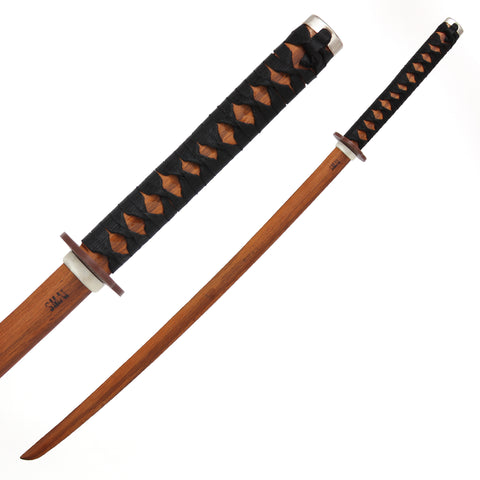 Bokken - Red Oak (Bound Handle)
