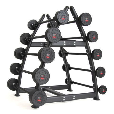 Fixed Barbell Set with Rack