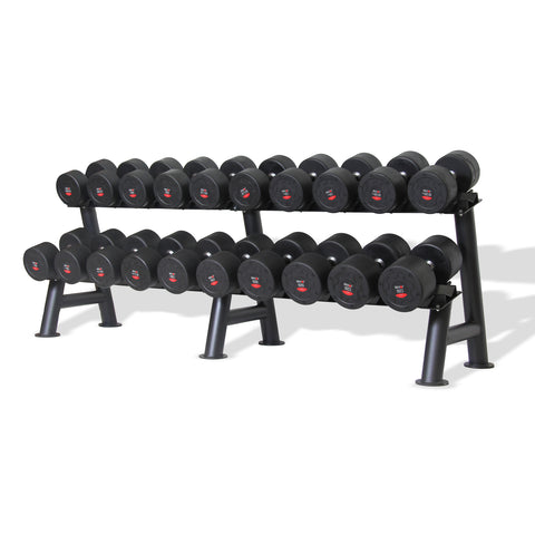 Commercial Dumbbell Set with Rack 32.5-60kg