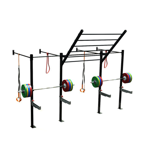 double squat half cell, squat rack, squat rack mount, olympic squat rack, squat racks, weight rack, gym rig