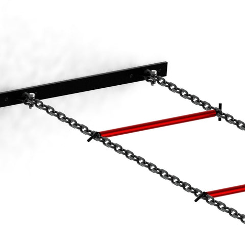 gym ladder, gym monkey chain, gym chain ladder, ladder gym