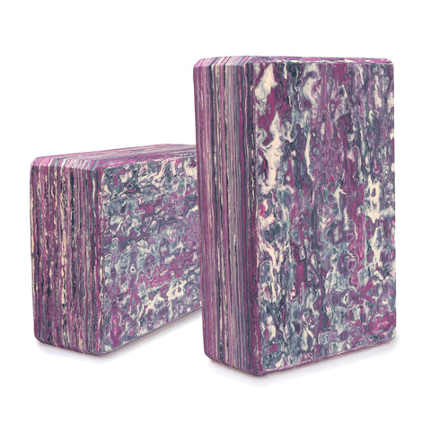 Yoga Block - Purple (Pair)