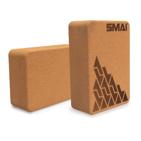 Yoga Block - Cork (Pair)