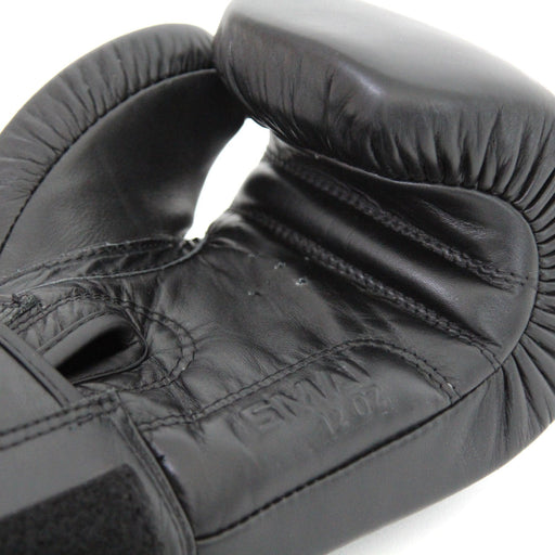 Triple Black Boxing Glove, boxing glove, punch glove, smai boxing glove
