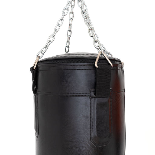 Punching Bag - 6ft Triple Black