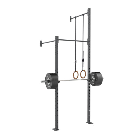 Wall Mounted Rig - 1 Squat Cell with Bridge